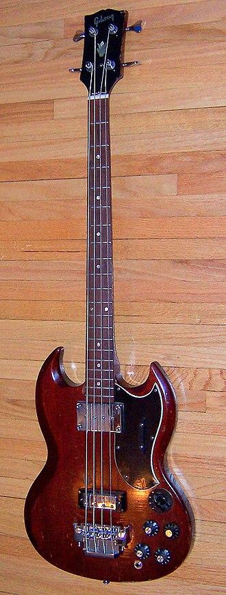Bass guitar - Gibson EB-3