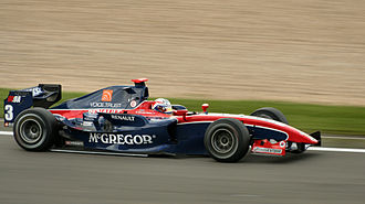 Giedo van der Garde - Van der Garde driving for iSport International at the Nürburgring round of the 2009 GP2 Series season.