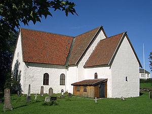 Gildeskål - The 900-year-old Old Gildeskål Church