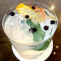 Gin and tonic at the Fairmont Washington DC - Sarah Stierch.jpg