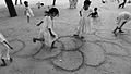 Girls playing hopskotch in Gandhi's Sabarmati Ashram, Gujarat, India.jpg