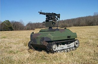 Unmanned ground vehicle - A Gladiator Tactical Unmanned Ground Vehicle
