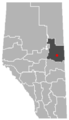 Glendon, Alberta Location.png