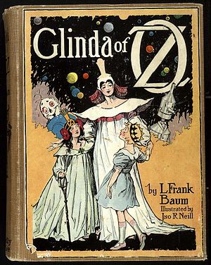 Cover of the Glinda of Oz