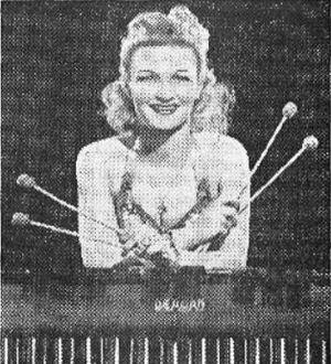 Gloria Parker - Gloria Parker in a 1944 advertisement