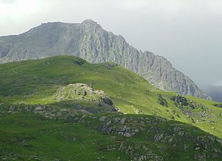 Glyder Fach Mountain in Wales