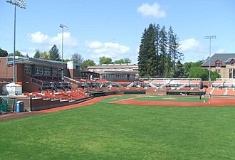 Oregon State Beavers baseball - Goss Stadium is the Beavers Baseball home stadium.