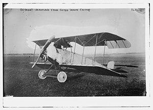 Gothaer Waggonfabrik - Gothaer Waggonfabrik LD.5 airplane in 1915