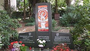 Maximilian Kaller - Grave of Maximilian Kaller – together with bishop Adolf Kindermann in Königstein im Taunus