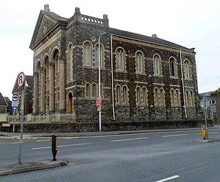 Tabernacle Chapel, Llanelli Church in Wales, United Kingdom