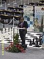 Gradonačelnik Rijeke Vojko Obersnel prilikom otvaranja Europskog šahovskog prvenstva u Rijeci, 2010..JPG