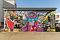 Graffiti at electrical substations, Brno-Vinohrady 07.jpg