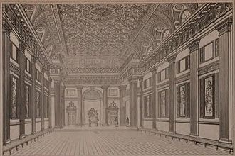 Thomas Sandby - Grand Hall, Freemason's Hall, London (Designed by Thomas Sandby and built in 1776)