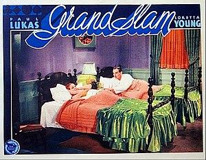 Grand Slam (1933 film) - lobby card