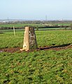 Grange Farm triangulation pillar - geograph.org.uk - 295067.jpg