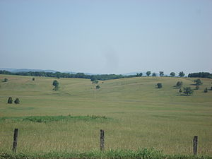 Grant County, West Virginia - Rolling countryside in southern Grant County