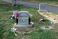 Grave adornment 04 - Glenwood Cemetery - 2014-09-19.jpg