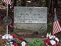Gravesite of PVT Hiram T. Smith near Haynesville, Maine close up view.jpg