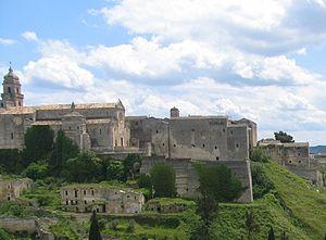 Roman Catholic Diocese of Altamura-Gravina-Acquaviva delle Fonti - Image: Gravina in Puglia Vista della Cattedrale