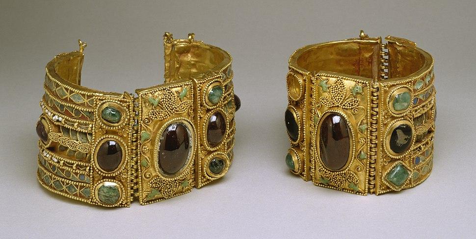 Greek - Bracelets from the Olbia Treasure - Walters 57375, 57376 - Group