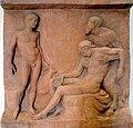 Greek burial stone, Pergamon Museum, Berlin.jpg