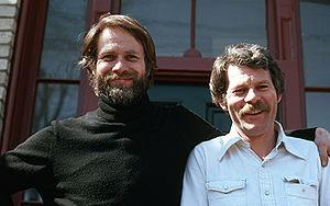 Rudolf Bikkers - Rudolf Bikkers with Canadian painter Greg Curnoe.