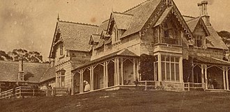 Greycliffe House - Greycliffe House circa 1875