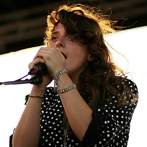 Victoria Legrand - Legrand performing in 2009