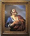 Guercino, san pietro pentito, olio su tela, 103,5x82 cm, parigi, coll privata.JPG