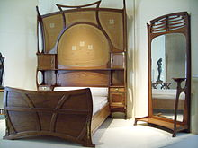 Bed room in mahogany (1899), Musée d'Orsay