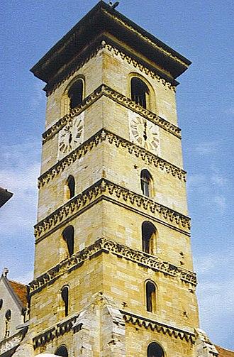 St. Michael's Cathedral, Alba Iulia - Image: Gyfh torony