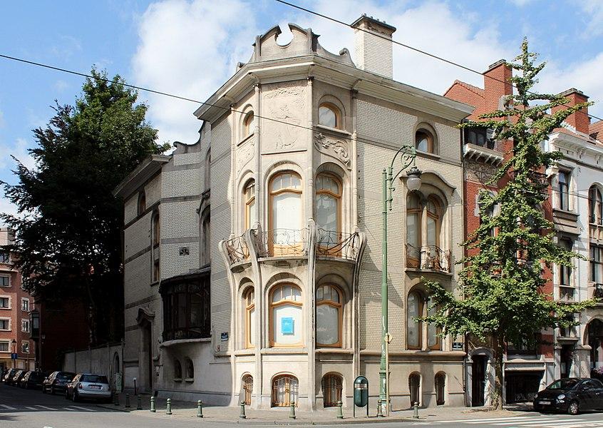 Hôtel Hannon, construit en 1902 par Jules Brunfaut, située Avenue de la Jonction, 1, à 1060 Saint-Gilles, en Belgique.