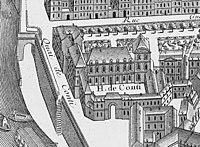 Hôtel de Conti - Turgot map Paris KU.jpg