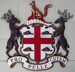 Crown corporations of Canada - The Hudson's Bay Company coat of arms.