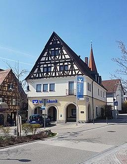Raiffeisenstraße in Ditzingen