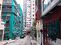 HK 上環 Sheung Wan 差館上街 Upper Station Street blue house 荷李活大樓 Hollywood Building October 2019 SSG.jpg