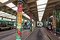 HK 大埔墟站 Tai Po Market Station Public Light Buses Scheduled Service Stand June 2018 IX2 09.jpg
