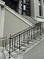 HK 大埔道 292 Tai Po Road 北九龍裁判法院 former North Kowloon Magistracy front outside stairs April-2012.JPG