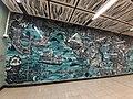 HK 港鐵 MTR 南港島線 South Island Line 利東邨站 Lei Tung Station January 2021 SS2 wall art 07.jpg