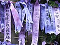 HK Admiralty Tamar Square Ribbon message 029 Purple 9-Sept-2012.JPG