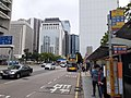 HK Central Connaught Road bus stop sign near City Hall April 2021 SS2 02.jpg