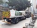 HK SYP 西營盤 Sai Ying Pun 皇后大道西 Queen's Road West traffic jam water tank truck August 2020 SS2 01.jpg