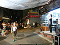 HK Sheung Wan Lower Lascar Row U Lan Festival night stage Aug-2012.JPG