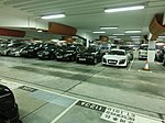 HK TST night Harbour City indoor Carpark interior reserved May-2013.JPG