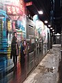 HK WC 灣仔 Wan Chai 石水渠街 Stone Nullah Lane Chi Residences wall picture Graffiti night March 2019 SSG 06.jpg