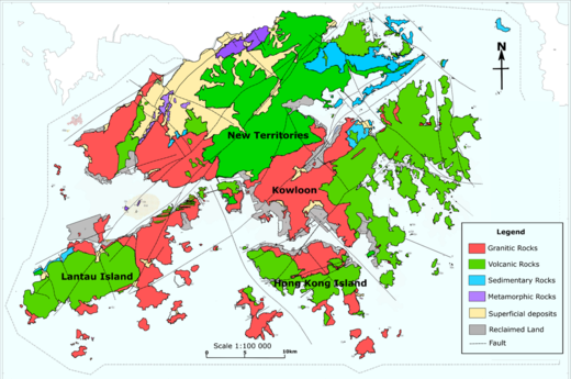 Geology of Hong Kong - Wikipedia