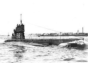 British C-class submarine - HMS C38