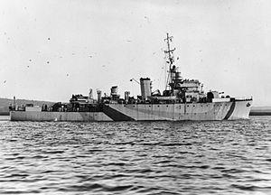 HMS Rifleman (J299) - Image: HMS Rifleman WWII IWM FL 18071
