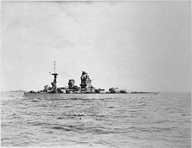 HMS Rodney going up the Firth of Forth.jpg