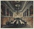 HUA-29092-Afbeelding van de grote zaal van het Gebouw voor Kunsten en Wetenschappen ingericht voor het diner aangeboden door de stad Utrecht aan koning Willem I.jpg